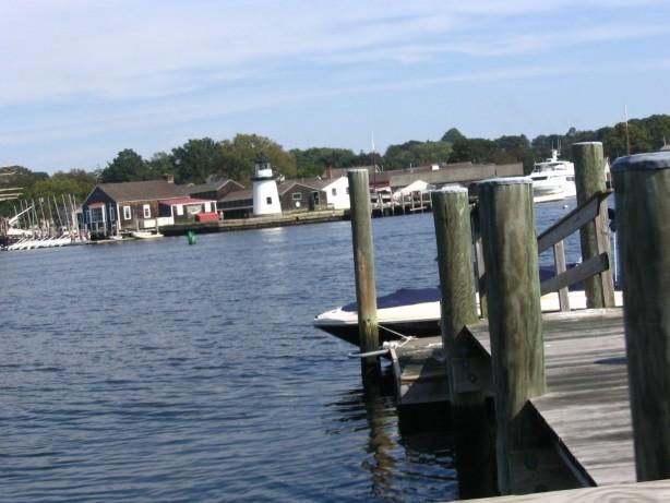 Mystic pier dock