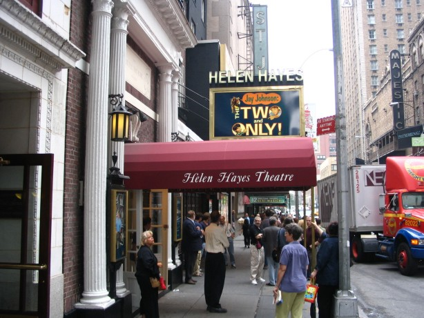 Jay Johnson's The Two & Only at the Helen Hayes
