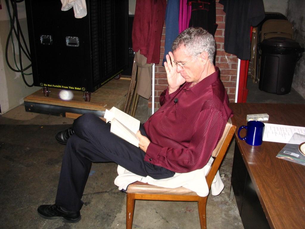 Steve Schalchlin offstage