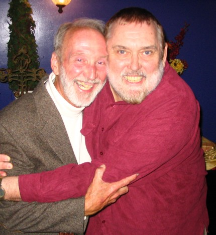 Frank Jackson with Jim Brochu