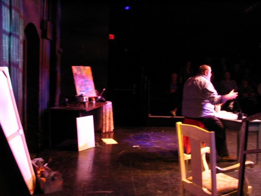 Jim Brochu in Zero Hour in Norwich Connecticut