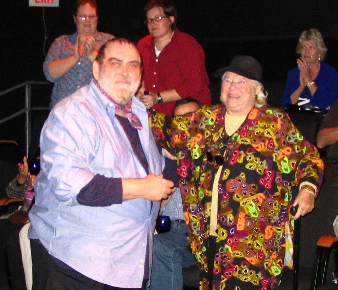 Jim Brochu in Zero Hour in Norwich Connecticut with Madeline Lee