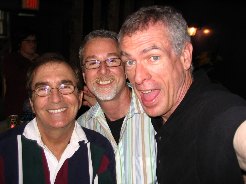 Steve Schalchlin with Gary and Gary.