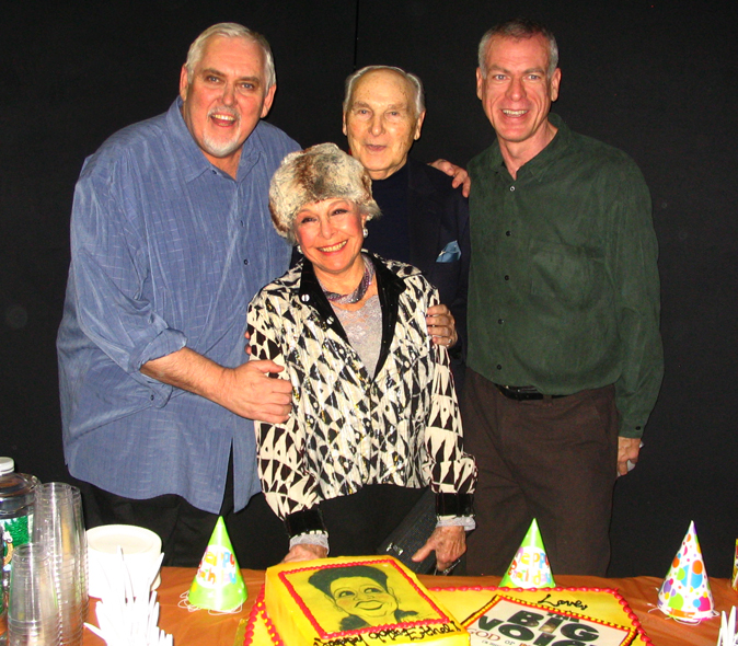 Jim Brochu, Marge Champion, Donald Saddler, Steve Schalchlin