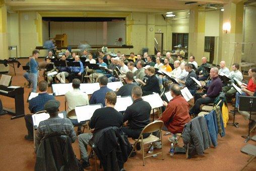 Indianapolis Gay Men's Chorus rehearsing.