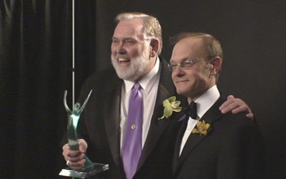 Jim Brochu, David Hyde Pierce
