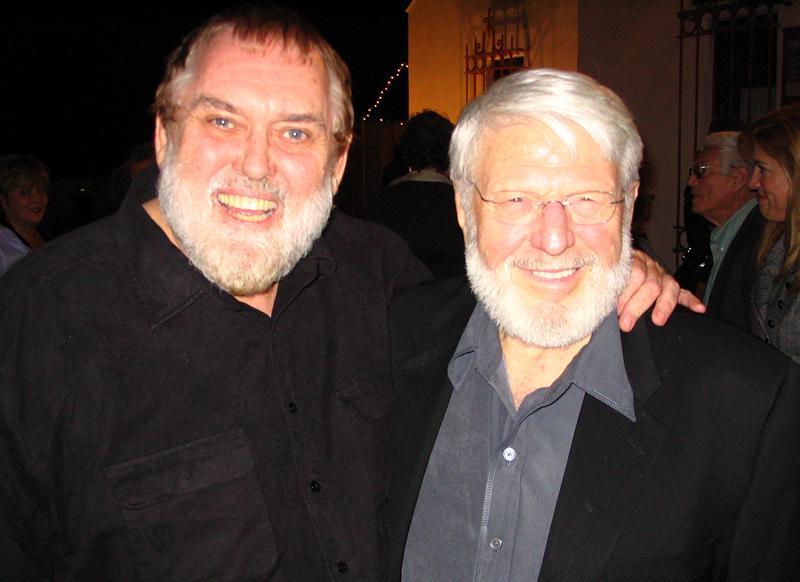 Jim Brochu with Theodore Bikel