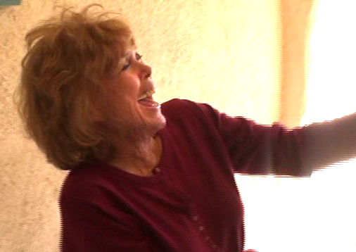 My Aunt Freida is the best laugher in the whole world.