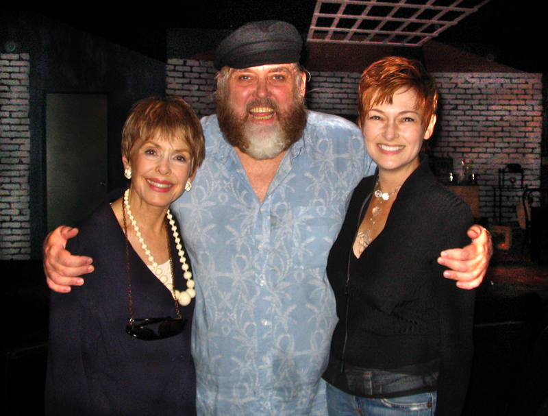 Barbara Rush with Jim Brochu & Carolyn Hennessy